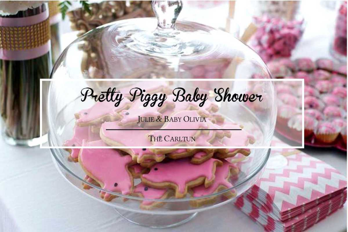 pretty piggy baby shower my life n 39 style